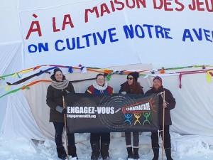 La Maison des Jeunes du Témiscamingue en préparation pour la mobilisation